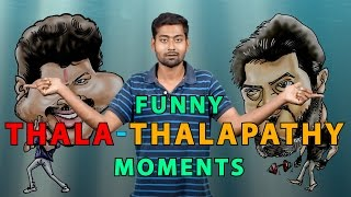 Video TOP 10 FUNNY THALA - THALAPATHY MOMENTS  | Ft. Varun | Countdown | Madras Central MP3, 3GP, MP4, WEBM, AVI, FLV Oktober 2018