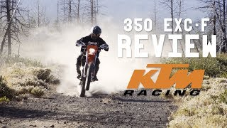 1. 2018 KTM 350 EXC-f Review + Ride