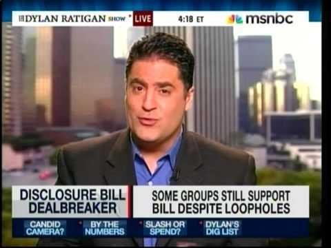 Cenk Vs. Republican Strategist On MSNBC (Campaign Finance Bill)