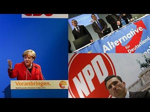 Σημαντική εκλογική δοκιμασία για Μέρκελ