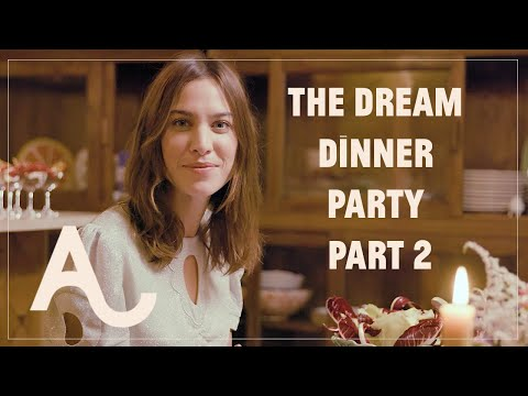 Alexa Learns How To Host Her Dream Dinner Party - Part 2 | ALEXACHUNG видео