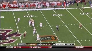 Tajh Boyd vs Boston College (2012)