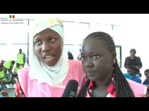 Pan African Robotics Competition 2016 Entretien avec les lauréates du Lycée de Thiaroye