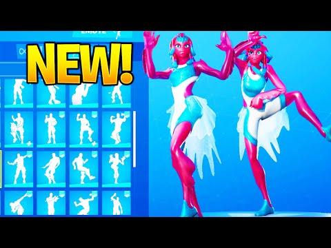 *NEW* BRYNE Skin Showcase With Dance Emotes! Fortnite Battle Royale