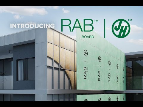 James Hardie RAB™ Board - Improves Building Performance and Lowers Risk