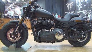 7. Harley-Davidson Fat Bob 114 (2018) Exterior and Interior
