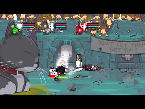 Castle Crashers [Co-op] #9 - Почти конец?