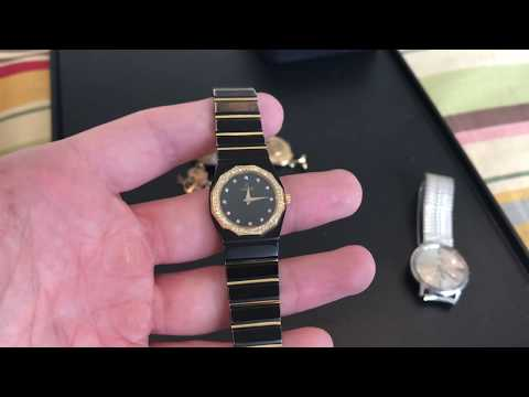 Estate sale / Garage Sale Finds Haul #34 - Designer Perfume - Jewelry -  Concord Mariner SG Watch !