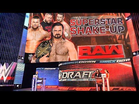 WWE Draft 2018 Superstar Shake-Up! (WWE RAW 4/16/18 Full Show Review)