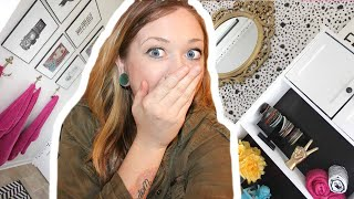 DIY SMALL BATHROOM MAKEOVER ON A SMALL BUDGET | DIY ROOM MAKEOVER ON A BUDET | Laci Jane