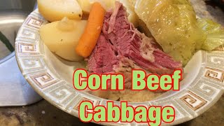 Corn  Beef and Cabbage Recipe amazing Brine for St Patty's  Day!