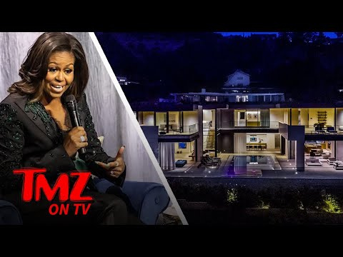 Michelle Obama Rents An AMAZING LA Home | TMZ TV