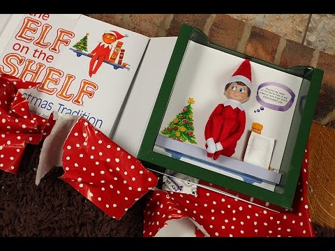 The Elf on the Shelf Arrived - Unboxing (видео)