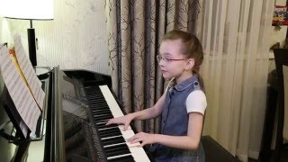 Imagine (coverJohn Lennon) Victoria V., age 7, Russia. Виктория Викторовна, 7 лет.