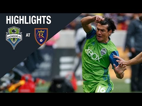 Video: HIGHLIGHTS: Seattle Sounders FC at Real Salt Lake