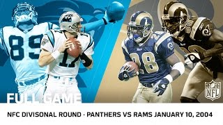 2003 Playoffs NFC Divisional Round: Panthers Upset Rams in 2OT (FULL GAME) | NFL by NFL