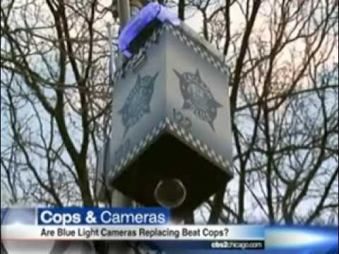 Are Blue Light Cameras Replacing Beat Cops