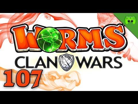 WORMS CLAN WARS # 107 - Der sprechende Wurm «» Let's Play Worms Clan Wars | Full HD