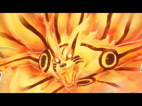 NARUTO vs KYUUBI killer bee AMV (HD 1080p) 3D BATALHA COMPLETA