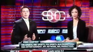 ESPN Anchors' Awkward On-Air Exchange (Official)