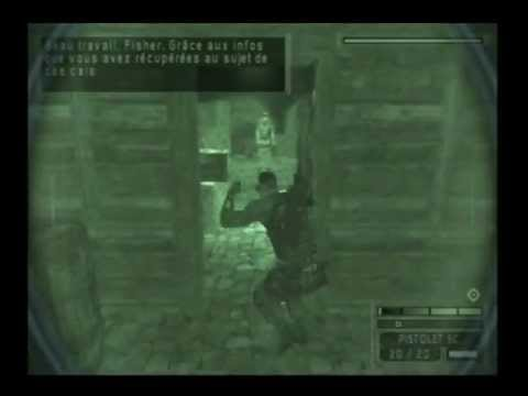 splinter cell chaos theory gamecube solution