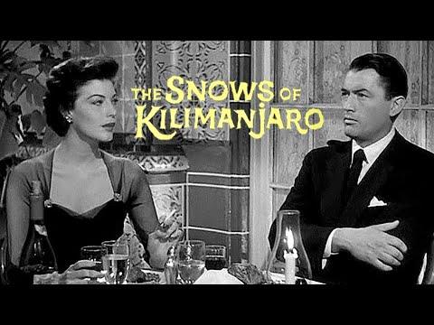 The Snows of Kilimanjaro - Full Movie | Gregory Peck, Susan Hayward, Ava Gardner, Hildegard Knef