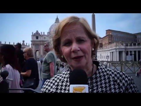 Shalom peregrina a Roma en el Domingo de la Misericordia
