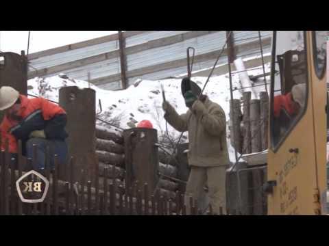 Ход строительства переезда на Тулака