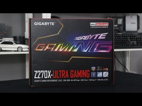 Gigabyte Z270 Ultra Gaming Kaby Lake Motherboard