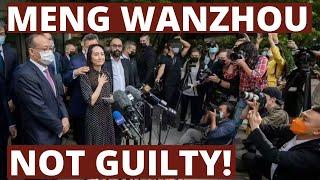 Meng WanZhou (HuaWei) free at last