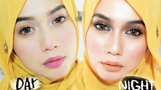 Soft Day Makeup to Sexy Nude Night makeup for Raya / Eid