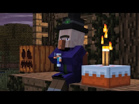 Villager  Witch Life 2 - Minecraft Animation