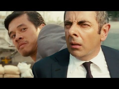 Catch Me If You Can!   Funny Clip   Johnny English Reborn   Mr Bean Official