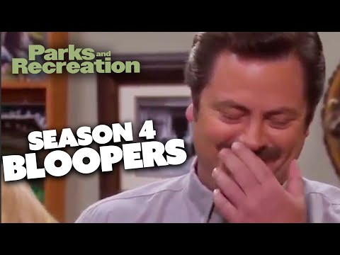 Season 4 BLOOPERS | Parks and Recreation | Comedy Bites
