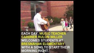 teacher sing