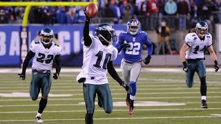 'Miracle at the New Meadowlands' Eagles vs. Giants 2010 Week 15 highlights