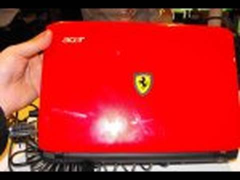 Acer Ferrari One 200 Hands On