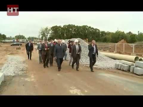 Строительство третьего моста в Великом Новгороде вышло на финишную прямую