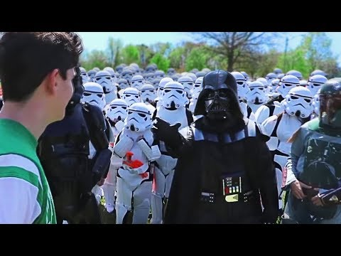 Walking Up To Random People With 100 StormTroopers