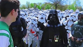 Download Lagu Walking Up To Random People With 100 StormTroopers Mp3
