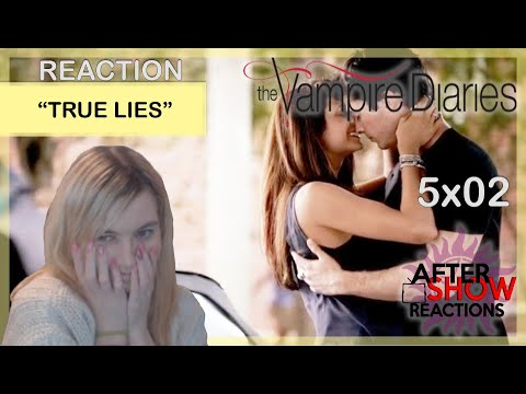 "The Vampire Diaries 5x02 - ""True Lies"" Reaction Part 2"