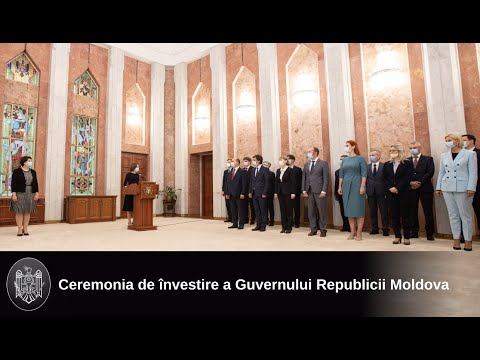 Membrii noului Guvern au depus jurământul în fața Președintelui Republicii Moldova, Maia Sandu