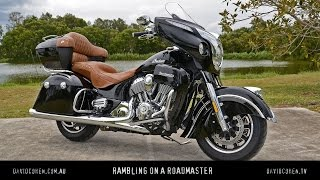 1. On-board the 2016 Indian Roadmaster