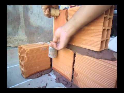assentamento de tijolos - acesse:http://ed-mattar.blogspot.com.br/