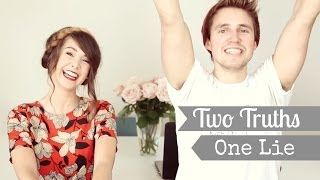 Two Truths, One Lie with Marcus | Zoella
