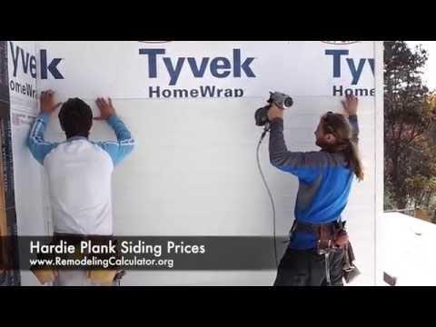 Hardie Plank Siding Prices