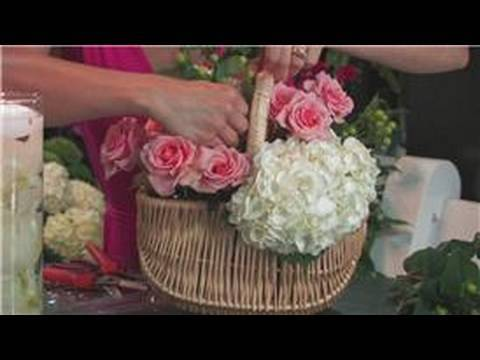 Wedding Floral Arrangements : How to Make Country Flower Arrangements