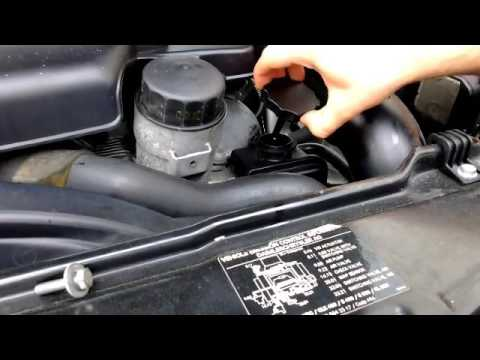 How to Check or Add Power Steering Fluid on a Mercedes Benz