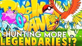 HO-OH Legendary Hunting  - Minecraft Pixelmon Island - Pokemon Mod
