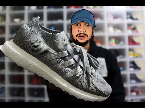 "Unboxing: Adidas Originals x Pusha T EQT Support Ultra PK ""Grey Scale"""